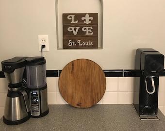Custom Wood Love Sign