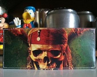 Pirates Disneyland Map Wallet