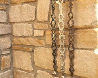 Wreath Hangers, Wreath Hooks, Accessories for Wreaths, Decorative Wreath Holder, Door Hook, Bronze Door Hook, Nickel Door Hook