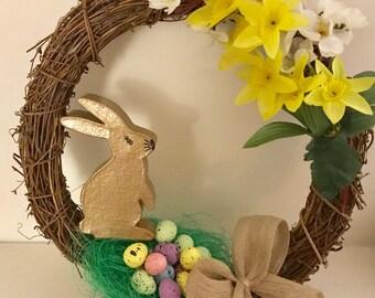 Easter wreath (indoor)