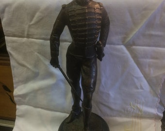 Spelter Figure of a Military Officer