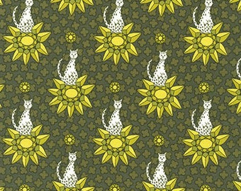 Rhoda Ruth by Elizabeth Hartman for Robert Kaufman Fabrics - 1/2 yard cut - # AZH 15458-268 Nature