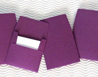 36+ teeny tiny envelope note sets handmade mini miniature square classic purple stationery weddings party favors table numbers