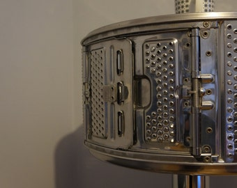 Furniture drum washing machine and trim