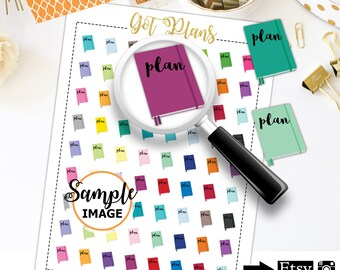 Plan Stickers, Planner Stickers, To Do Stickers, Planning Stickers, Printable Stickers, BUJO Stickers,Scrapbook Stickers, Agenda Stickers