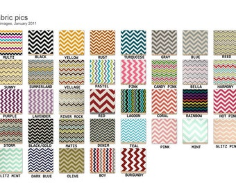 "6"" Super Size Coupon Organizer Attaches to Your Shopping Cart - Pick Your Color Chevron  Zig Zag"