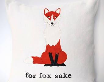 For fox sake cushion cover