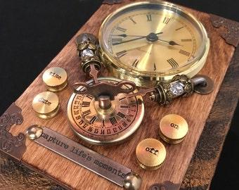 Time machine clock journal