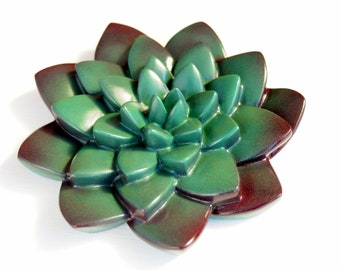 Succulent wall hanging 3d wall decor Gardeners gift Succulent party decoration flower Housewarming Gift Succulent theme wedding party