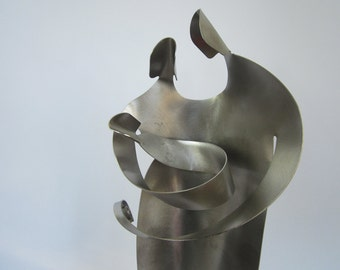 Family / Nativity- Stainless Steel Sculpture Art