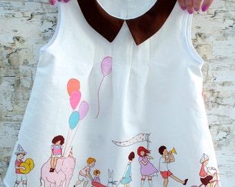 Children On Parade Dress Birthday Party Dress, toddler, child, first birthday dress