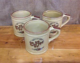 Vintage Asake Fine Quality Coffee Cups