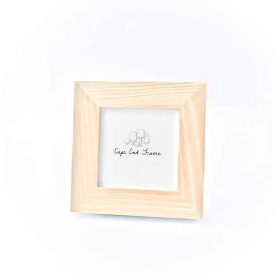 Unfinished Wood Frame - 4x4 Picture Frames, Unfinished Frames from ...