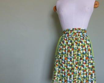 Vintage Skirt Apron Pinny C.1950s