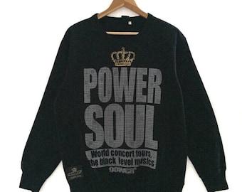 RARE!!! Power Soul Vintage Sweatshirt