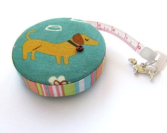 Retractable Tape Measure with Brown Dachshunds Pocket Measuring Tape
