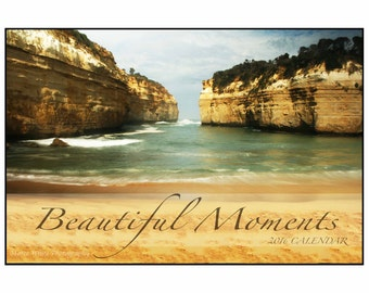 Beautiful Moments Fine Art Calendar 2016, Landscape photography, Australian landscape, Seascape,