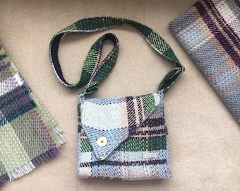 Handmade Bag - Yorkshire Blankets Eco Friendly 80% Wool