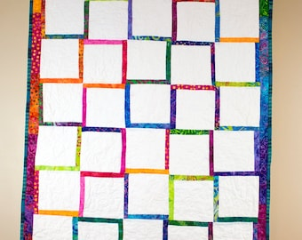 Quilted Crib Blanket