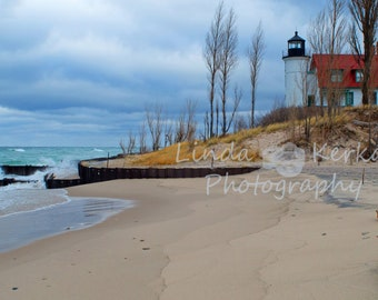 The Beach of Point Betsie