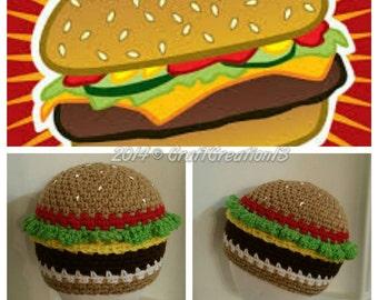 Cheeseburger Beanie