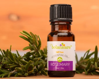 Rosemary Essential Oil Therapeutic Grade 100% Pure .33oz/10ml by Botanicare