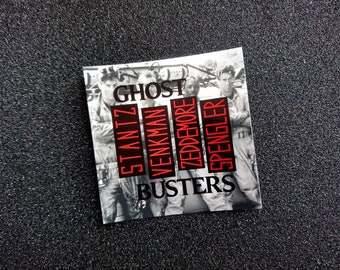 """Ghostbusters """"Rise Above Gozer"""" Sticker"""