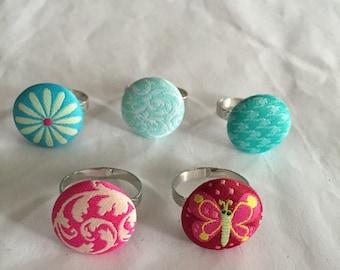 Fabric Rings Part 2!!
