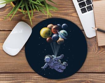 Mousepad Astronoaut Space Planets