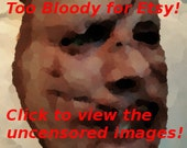 Face Mask - Leatherface Look Option (Must purchase with a mask)