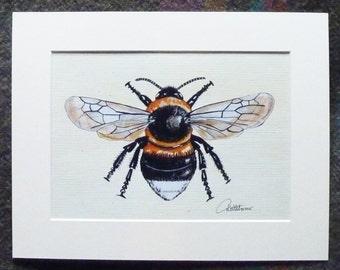 Bumblebee Picture Bee Picture Bee Wall Art Bumblebee Painting Bumblebee Artwork Bee Decor Bee Gift Bumblebee Art Nature Inspired Gift choice