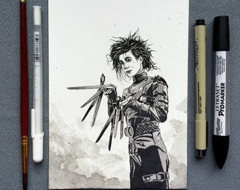 Edward Scissorhands - Original Artwork