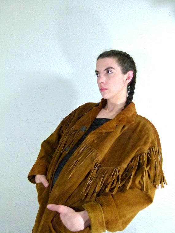 Minnetonka Fringe Jacket size Small