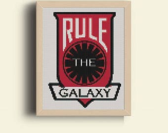 Star Wars Cross Stitch Pattern, StarWars Characters, Popular Heroes Modern Cross Stitch Pattern, Pdf Pattern, Instant Download