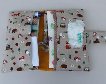 Diaper bag, wrap bag XXL