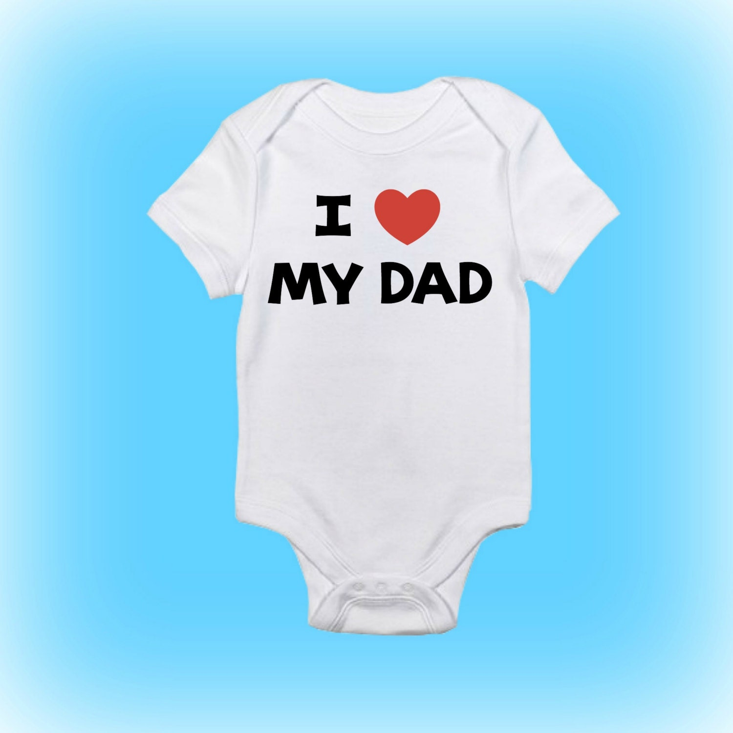 New Daddy Gift I Love My Dad Daddy esie New Daddy