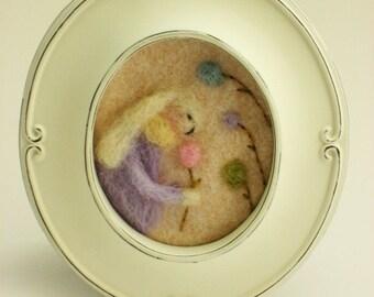 Easter Decor - Spring Decor - Spring Bunny - Vintage Bunny - Easter bunny