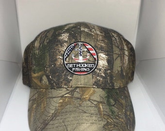 Get Hooked Fishing Hat