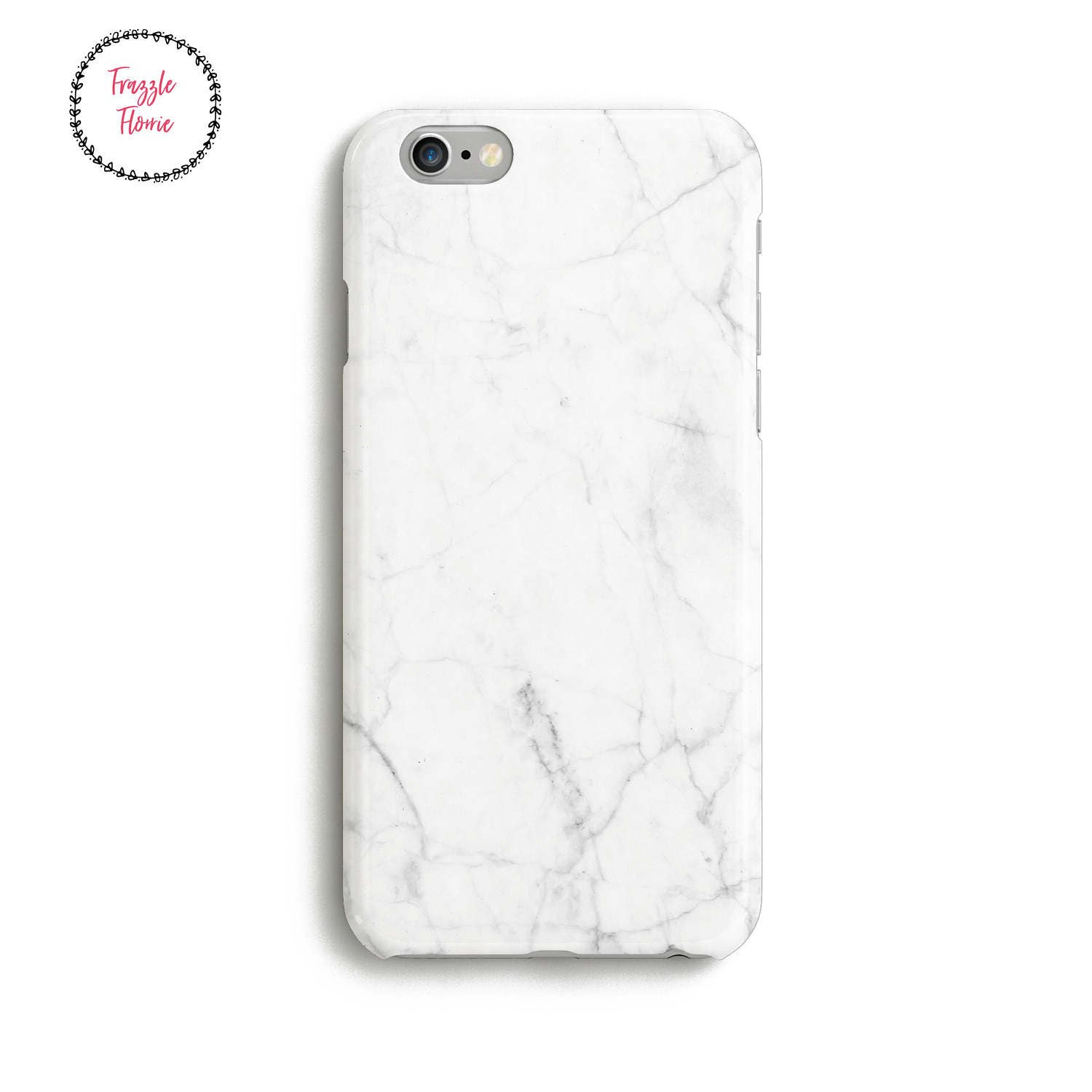 iphone 6 marble case white