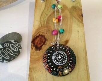Wooden jewelry display, Angled necklace display, Raised bracelet display, Retail store display, Craft show display, B/LB