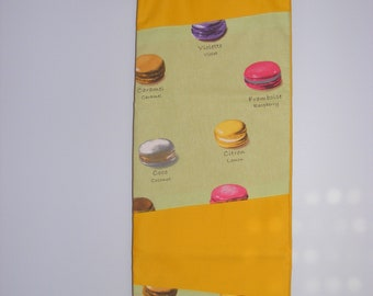 """macarons"" bread bag"