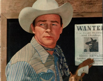 Roy Rogers - # 88 - 1955 - color comic