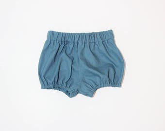 Cotton/Linen Bloomers in Teal