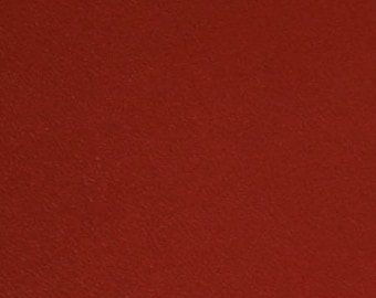 leather, sheep, dyed red to m2 for club Chair or other