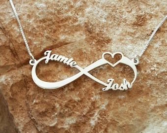 with gift anniversary infinity gifts necklace names look jewels infinite ideas bridesmaids personalized for symbol l perfect