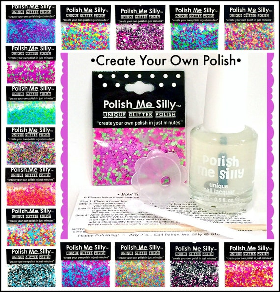 CREATE Your Own Nail Polish Kit DIY Custom-Blended Indie