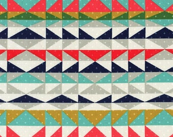Overlook Serape Fabric - Indigo - sold by the 1/2 yard