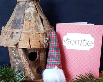 Nordic gnomes, Scandinavian gnomes, tomte, nisse, felt gnomes, upcycled, adopt a gnome