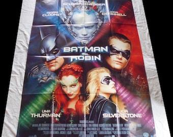 1997 Batman and Robin 120X160cm very good condition/vgc original movie poster