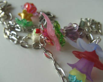 Silver, Keyring, bag charm, cake, tea pot, whimsical, mix colour, retro phone, butterfly, by NewellsJewels on etsy